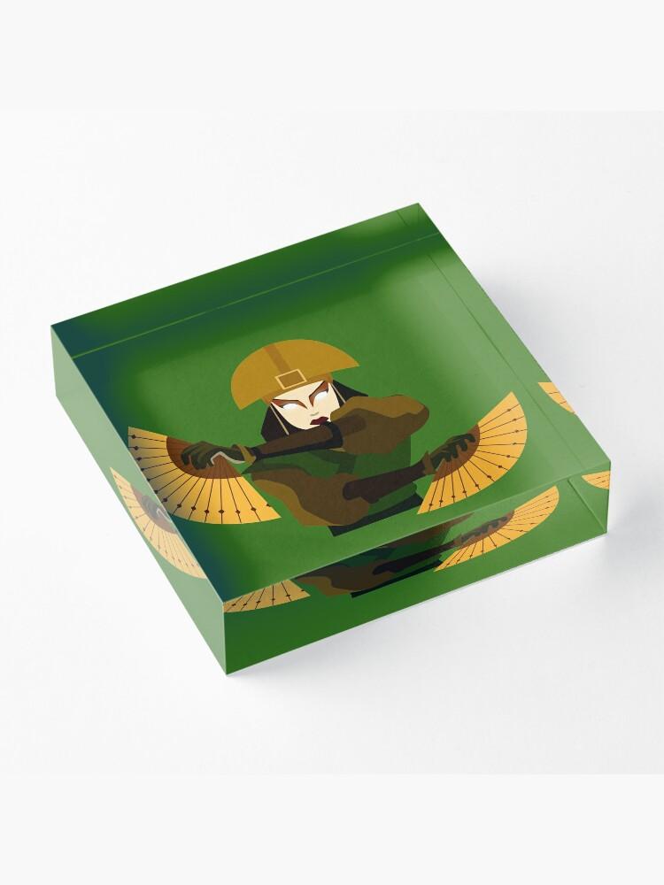 Alternate view of Avatar Kyoshi Acrylic Block