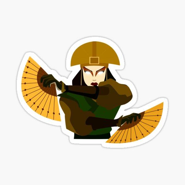 Avatar Kyoshi Sticker