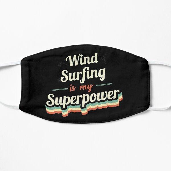 Windsurfen ist meine Supermacht Flache Maske