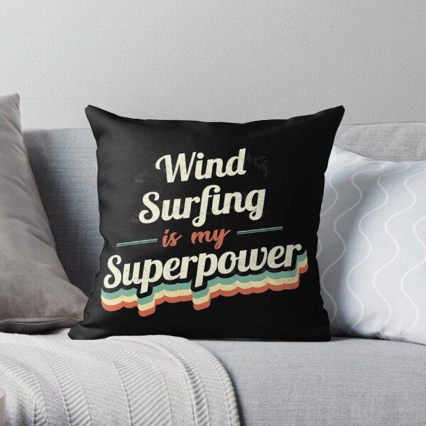 Windsurfen ist meine Supermacht Dekokissen