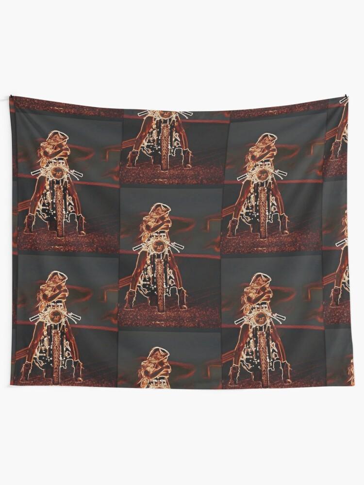 Alternate view of TAKIN' A BREAK Tapestry