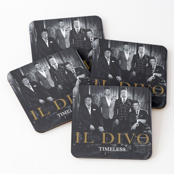 Timeless by Il Divo Classic Music Coasters (Set of 4)