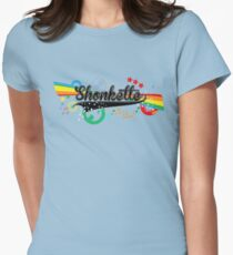 Shonkette (black) Womens Fitted T-Shirt