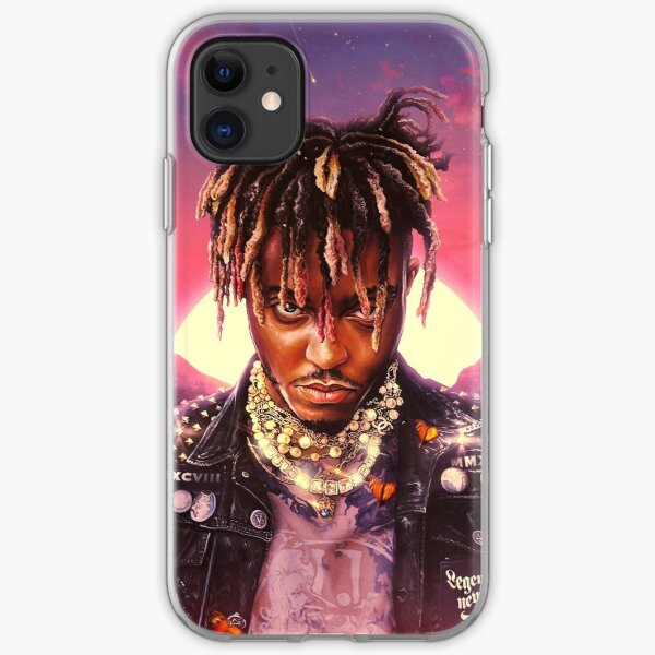 Poster Juice WRLD Cover Legends Never Die iPhone Soft Case