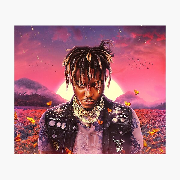 Poster Juice WRLD Cover Legends Never Die Photographic Print