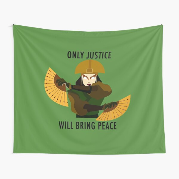 Only Justice Will Bring Peace (Avatar Kyoshi) Tapestry