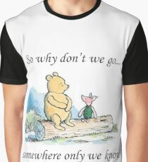 """Keane """"Somewhere Only We Know"""" Graphic T-Shirt"""