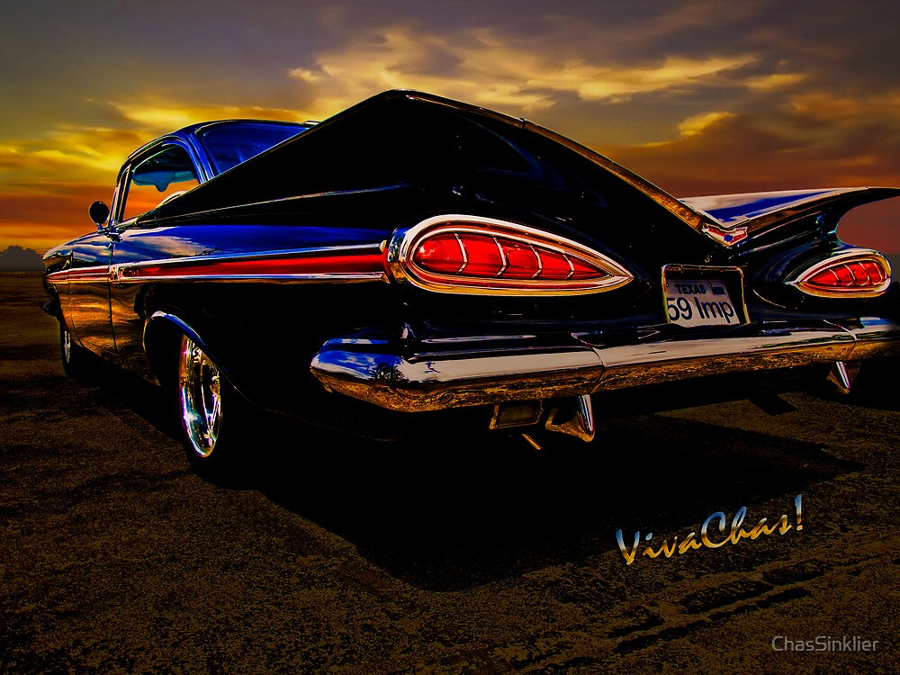 59 Chevy Impala Hardtop by ChasSinklier