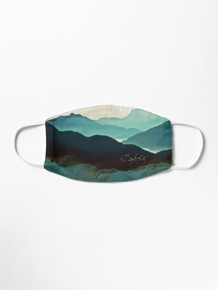 Alternate view of Indigo Mountains Mask