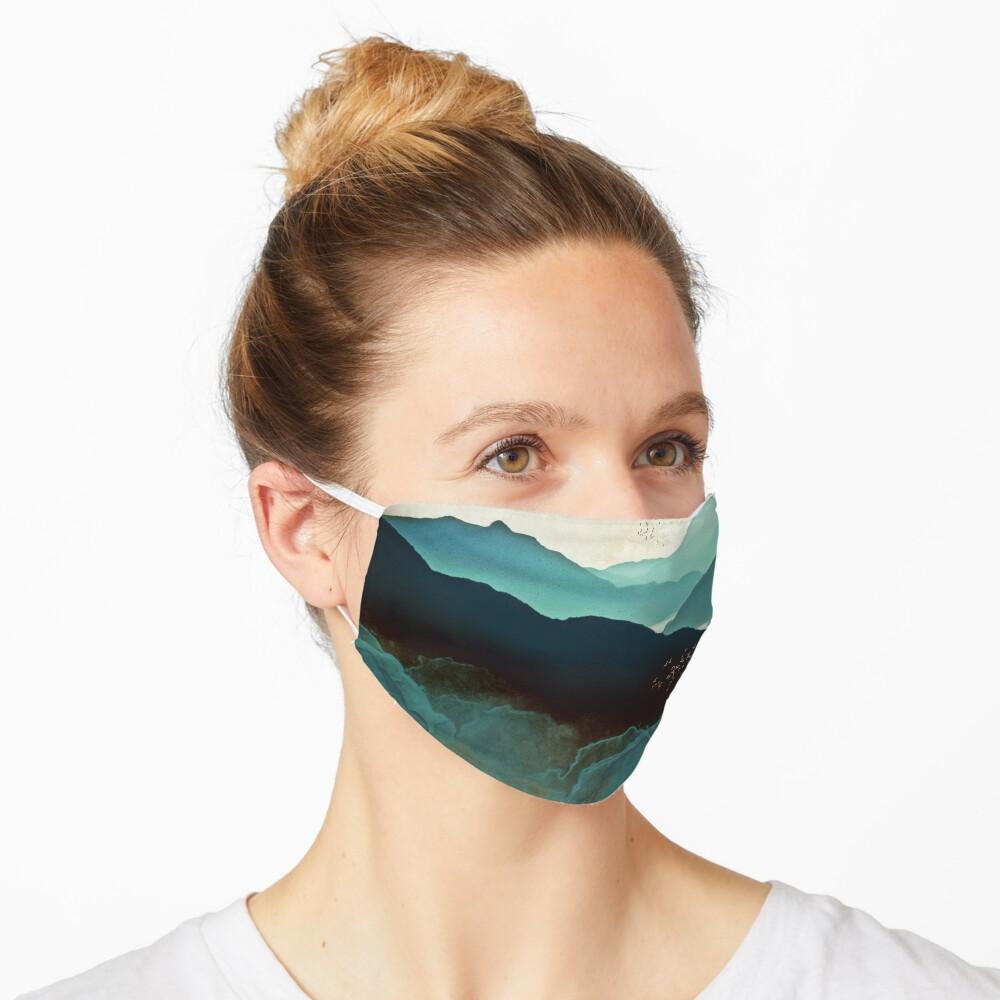Indigo Mountains Mask