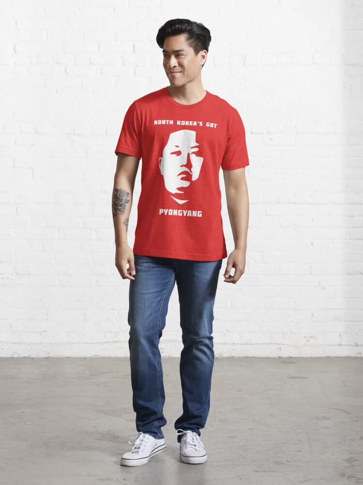 Alternate view of North Korea's Got Pyongyang (Kim Jong Un) Essential T-Shirt