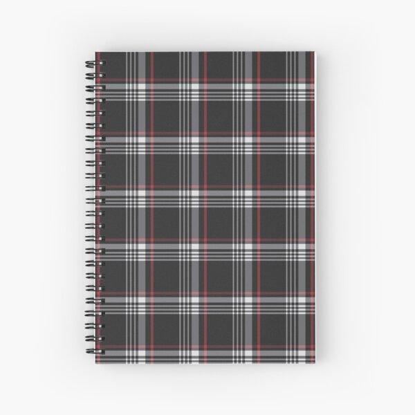 Tela escocesa de tartán de Interlagos Cuaderno de espiral