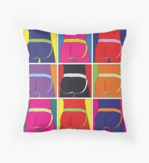 Jockstrap Desire Nine Throw Pillow