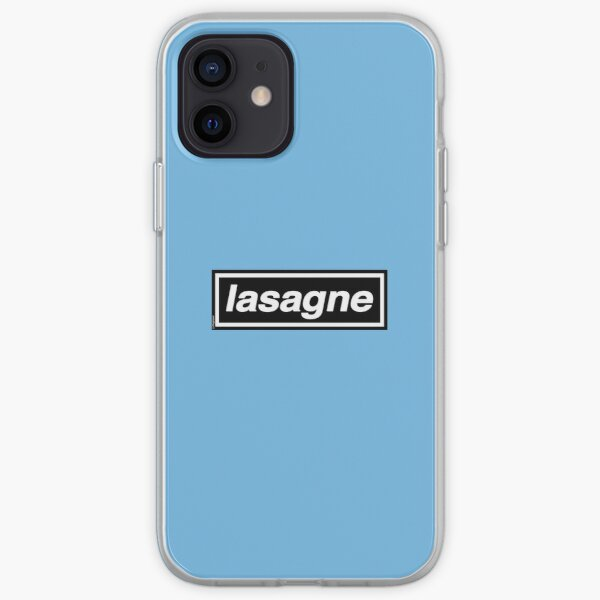 Lasagne (Digsy's Dinner) OASIS Band Tribute - MADE IN THE 90s iPhone Soft Case