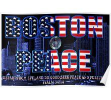 ✌☮† ❤ † BOSTON PEACE-MY HEART FELT SYMPATHY FOR BOSTON VICTIMS† ❤ †✌☮  Poster