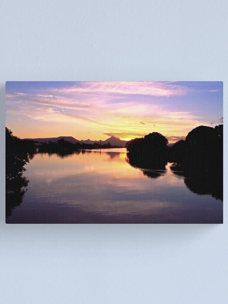 AUSTRALIA Sunset tweed mt warning NSW river kingscliff
