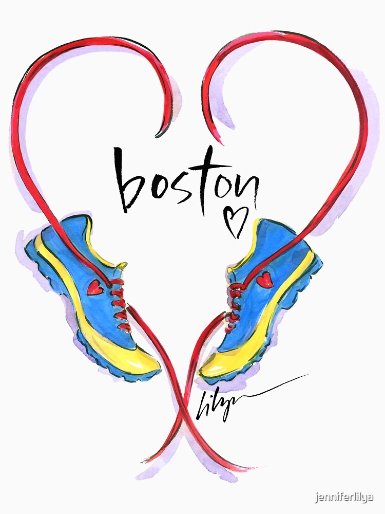 Hearts For Boston! | Unisex T-Shirt