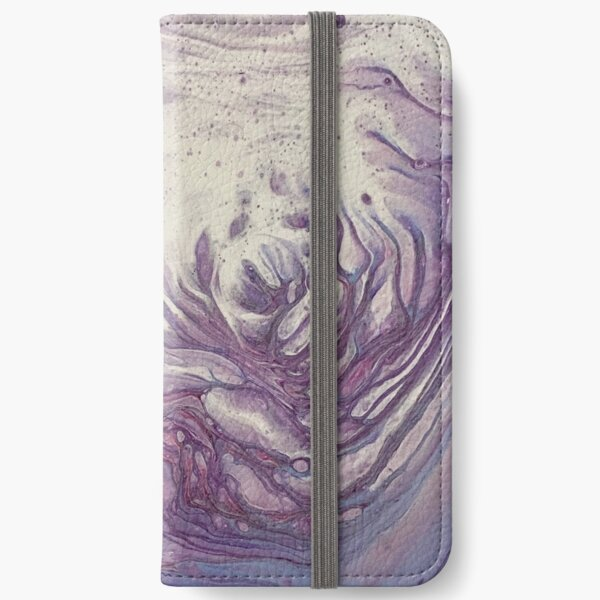 Purple Abyss iPhone Wallet