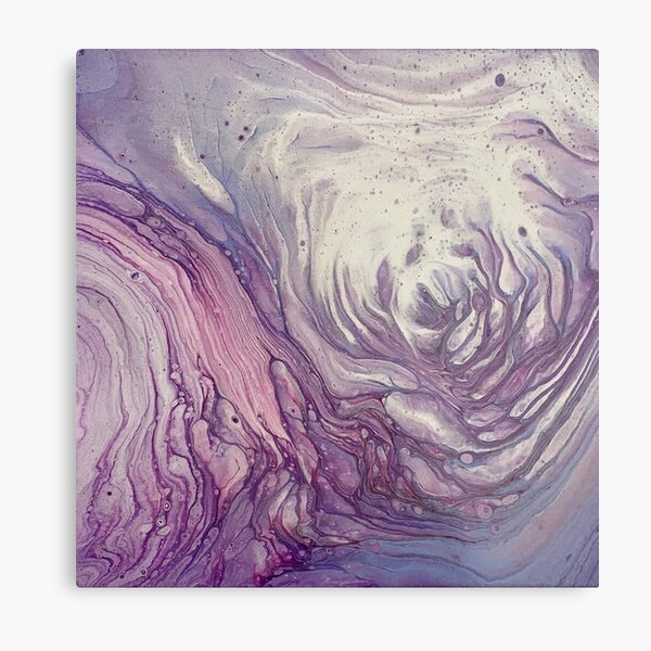 Purple Abyss Metal Print