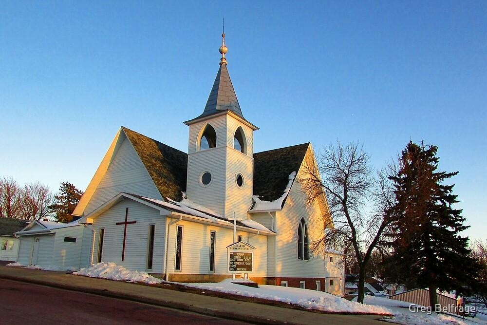 Baltic Lutheran Church by Greg Belfrage
