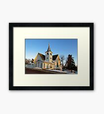 Baltic Lutheran Church Framed Print
