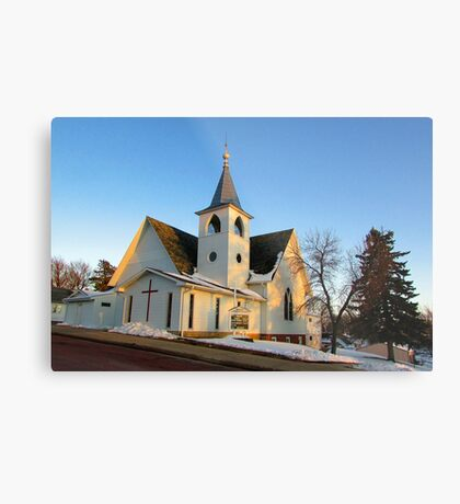 Baltic Lutheran Church Metal Print