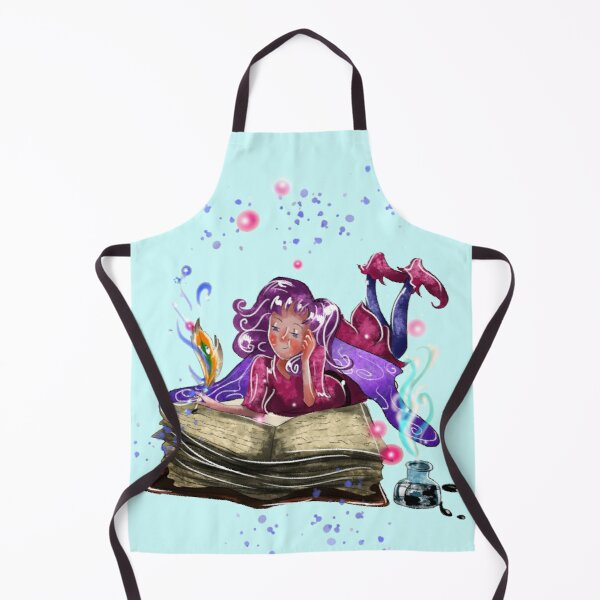 Airapippen The Author Fairy In Turquoise™ Apron