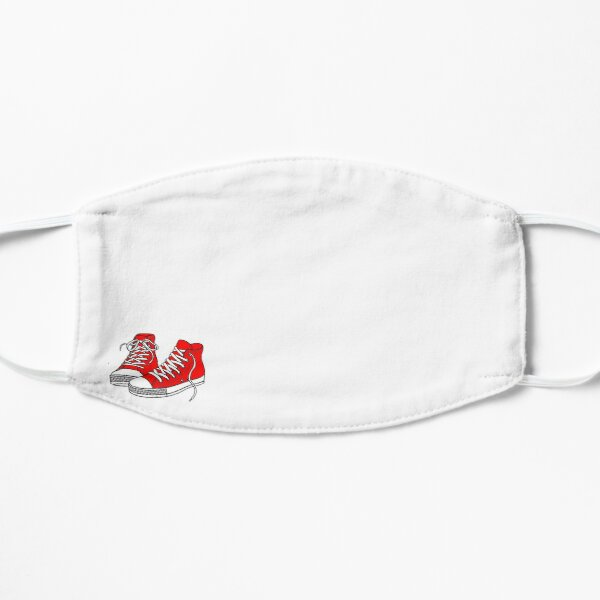 Red Shoe High Tops Mask