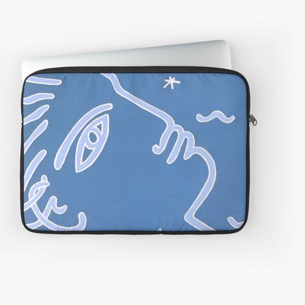 Jean Cocteau Exhibition Poster Laptop Sleeve