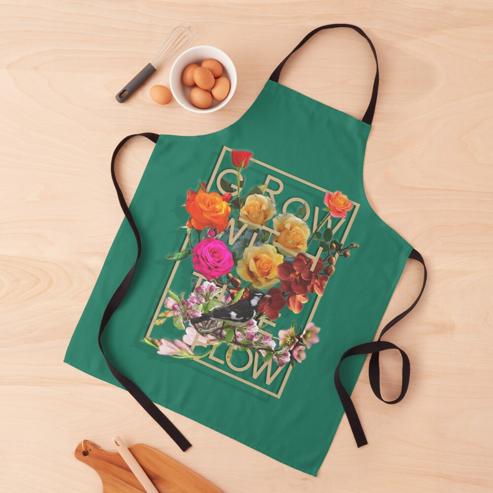 Grow With The Flow Apron
