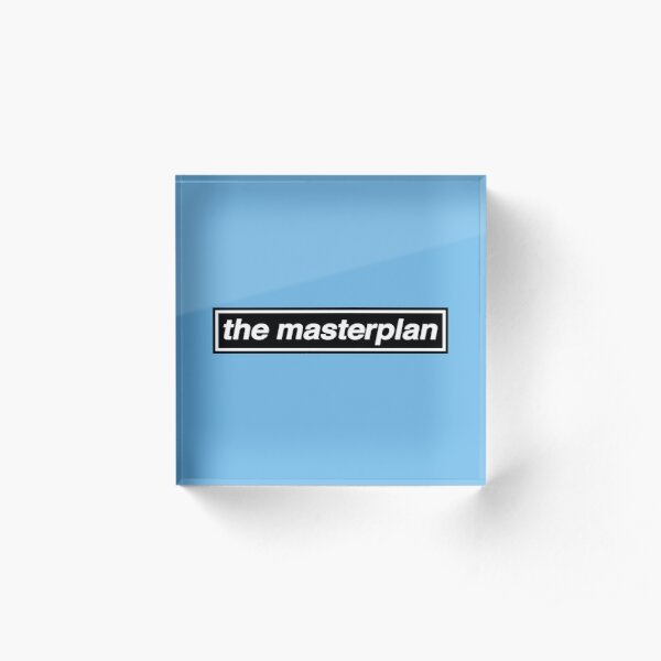 The Masterplan - OASIS Band Tribute - MADE IN THE 90s Acrylic Block