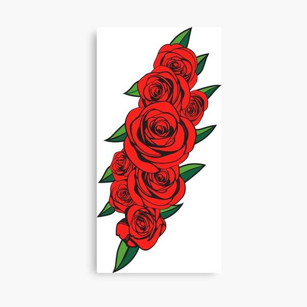 Dead Bolt Roses  Canvas Print