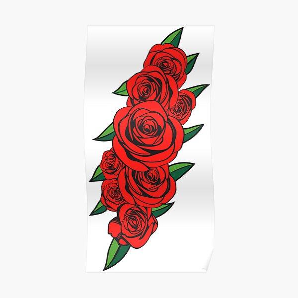 Dead Bolt Roses  Poster