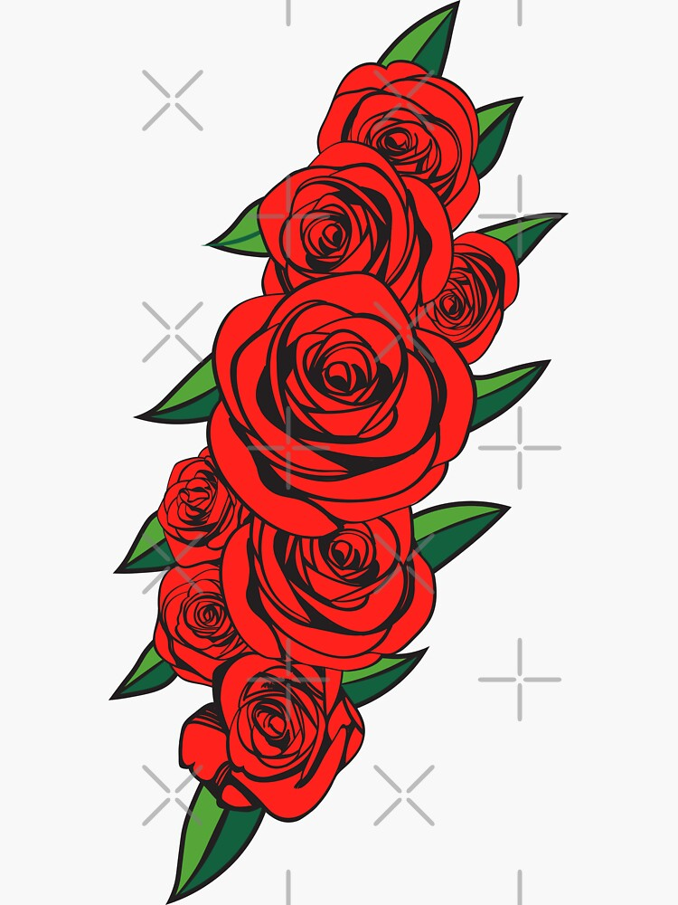 Dead Bolt Roses  by shaylikipnis