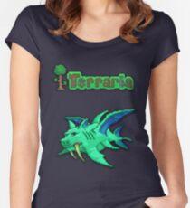 Terraria Duke Fishron Women's Fitted Scoop T-Shirt