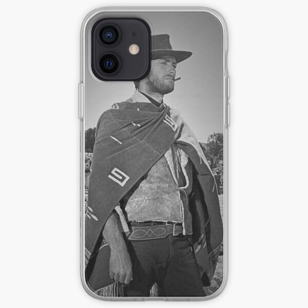 Clint Eastwood - The Good, The Bad and The Ugly. iPhone Soft Case