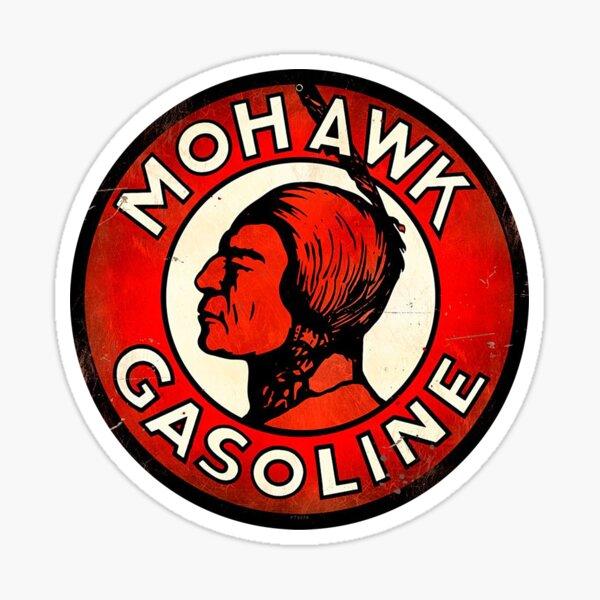 Mohawk Gasoline Emblem Sticker