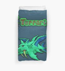 Terraria Duke Fishron Duvet Cover