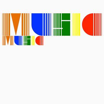 Music Rainbow by BonyBackBailey