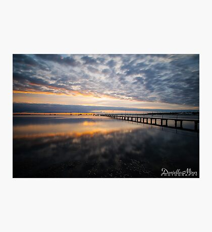 Griffiths Gully Jetty Sunrise 2 Photographic Print