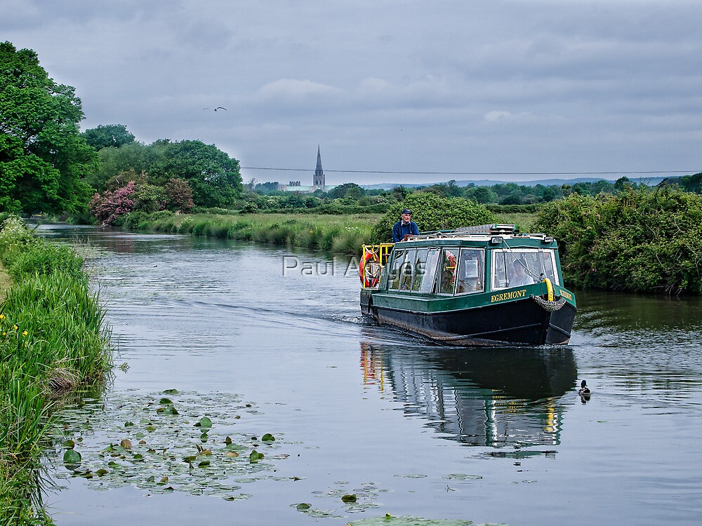 Cruising Chichester Ship Canal by Paul Amyes