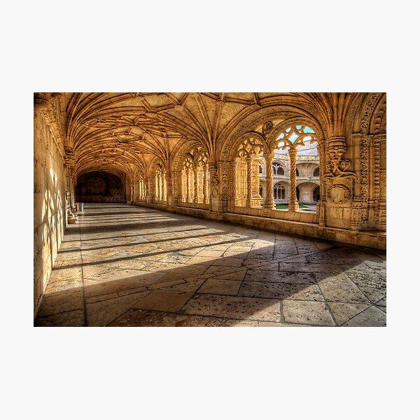 Monastery dos Jeronimos Cloisters Photographic Print