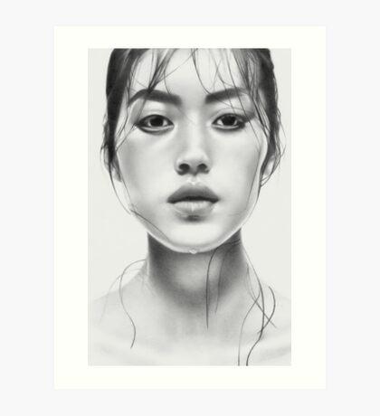 Liu Art Print