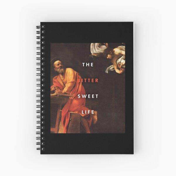 """The Bittersweet Life"" Podcast Rectangular Logo V. 2 Spiral Notebook"