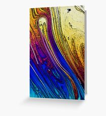 Bubble Ink Stained Effect Greeting Card