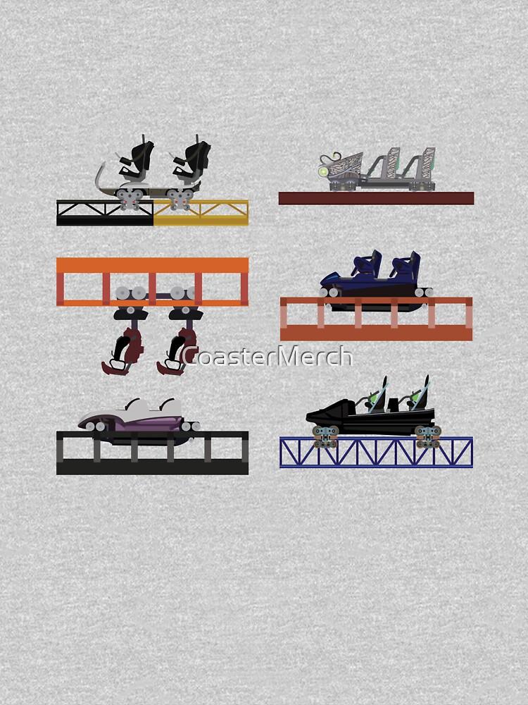 Walibi Holland Coaster Cars Design by CoasterMerch