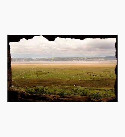 Gower Salt Marsh - As Seen From Weobly Castle Photographic Print