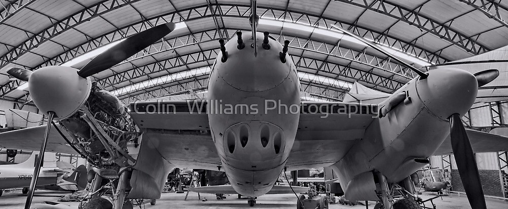 The Elvington Mosquito  by Colin  Williams Photography