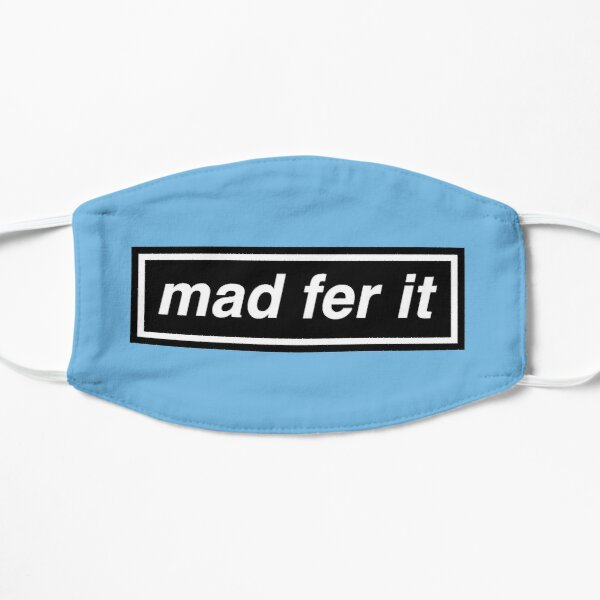 Mad Fer It - OASIS Band Tribute - MADE IN THE 90s Small Mask