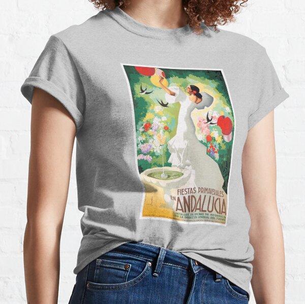 1941 SPAIN Andalucia Springtime Festivals Poster Classic T-Shirt